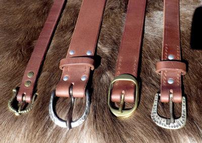 ceintures cuir
