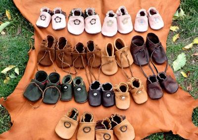 ensemble chaussons bébé
