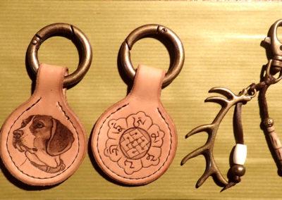 portes clés sur commande