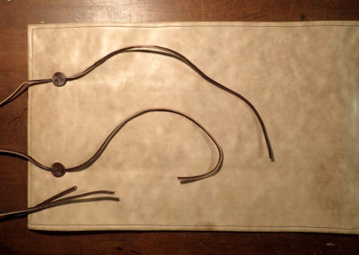 trousse cuir outils sculpture