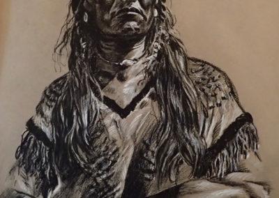 portrait amérindien