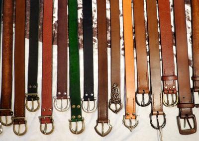 ceinture cuir médiévale