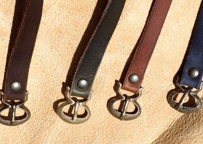 bracelets bande de cuir