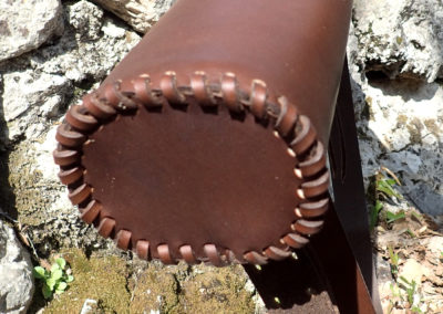 carquois chasse cuir bandoulière
