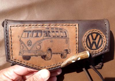 blague tabac artisanale cuir combi volkswagen