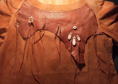 tunique décorée cuir renne