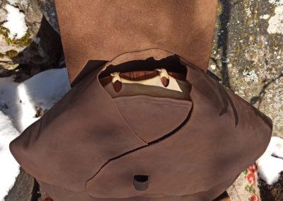 sac transport tambour chamanique