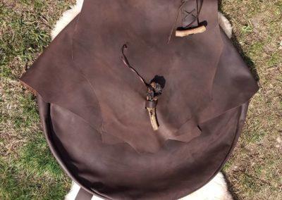 sac transport tambour chamanique bandoulière
