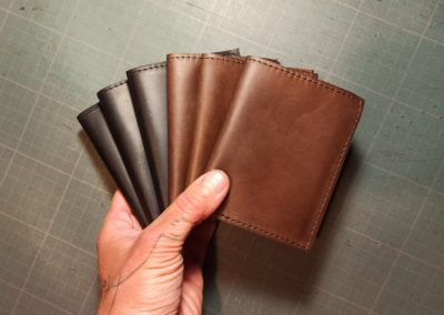 porte cartes bleues cuir